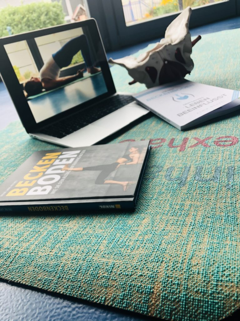 Beckenboden Yoga mit Yogalia